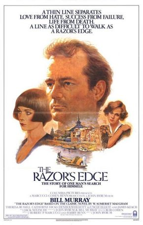 April 15th 2014: Bill Murray Double Feature – The Razor's Edge and Where The Buffalo Roam
