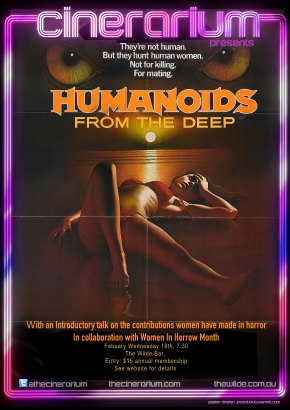 CINERARIUM PRESENTS WOMEN IN HORROR MONTH: HUMANOIDS FROM THE DEEP (1980)